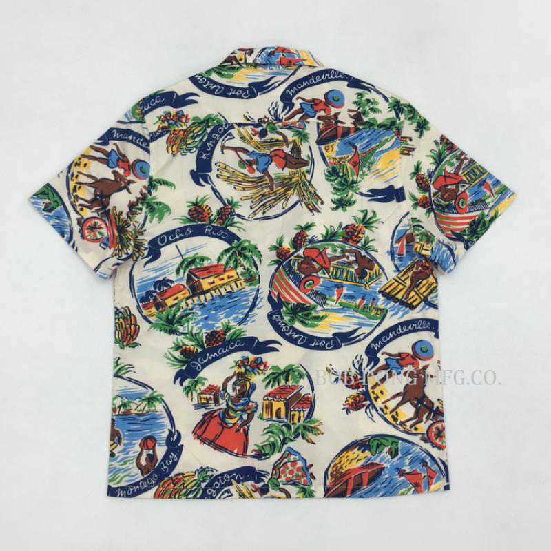 0854024de05e08 ... Vintage 50s Aboriginal Aloha Hawaii Shirts For Men Hawaiian Summer  Print Tops ...