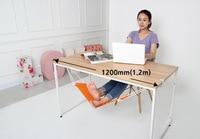 40pcs Lot Vintage FUUT Desk Feet Hammock Mini Foadable Hammock For Relaxing Foot Under Desk DHL