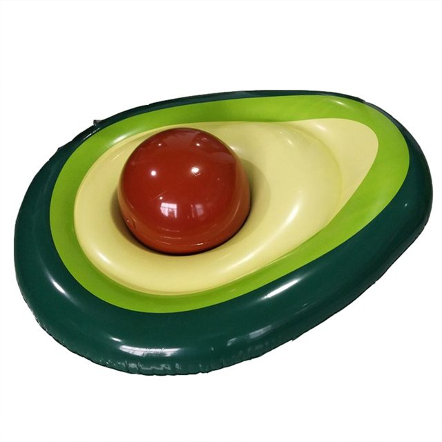 Giant Avocado Inflatable Swimming Ring 160x125cm
