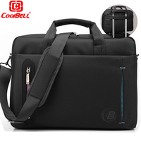 CoolBell Multicompartment Laptop Single Shoulder Bag Briefcase Case Messenger Business Sleeve HandBag For 15 6 Inch