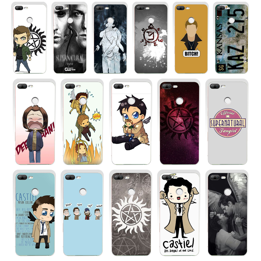212SD cool Supernatural tv logogift Soft Silicone Tpu Cover phone Case for huawei Honor 8 9 Lite 8X p 9 lite 2016 image