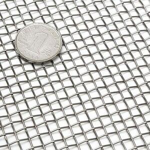Image 2 - 5/8/20/30/40 сетчатый Плетеный проволочный высококачественный фильтр из нержавеющей стали 15x30 см
