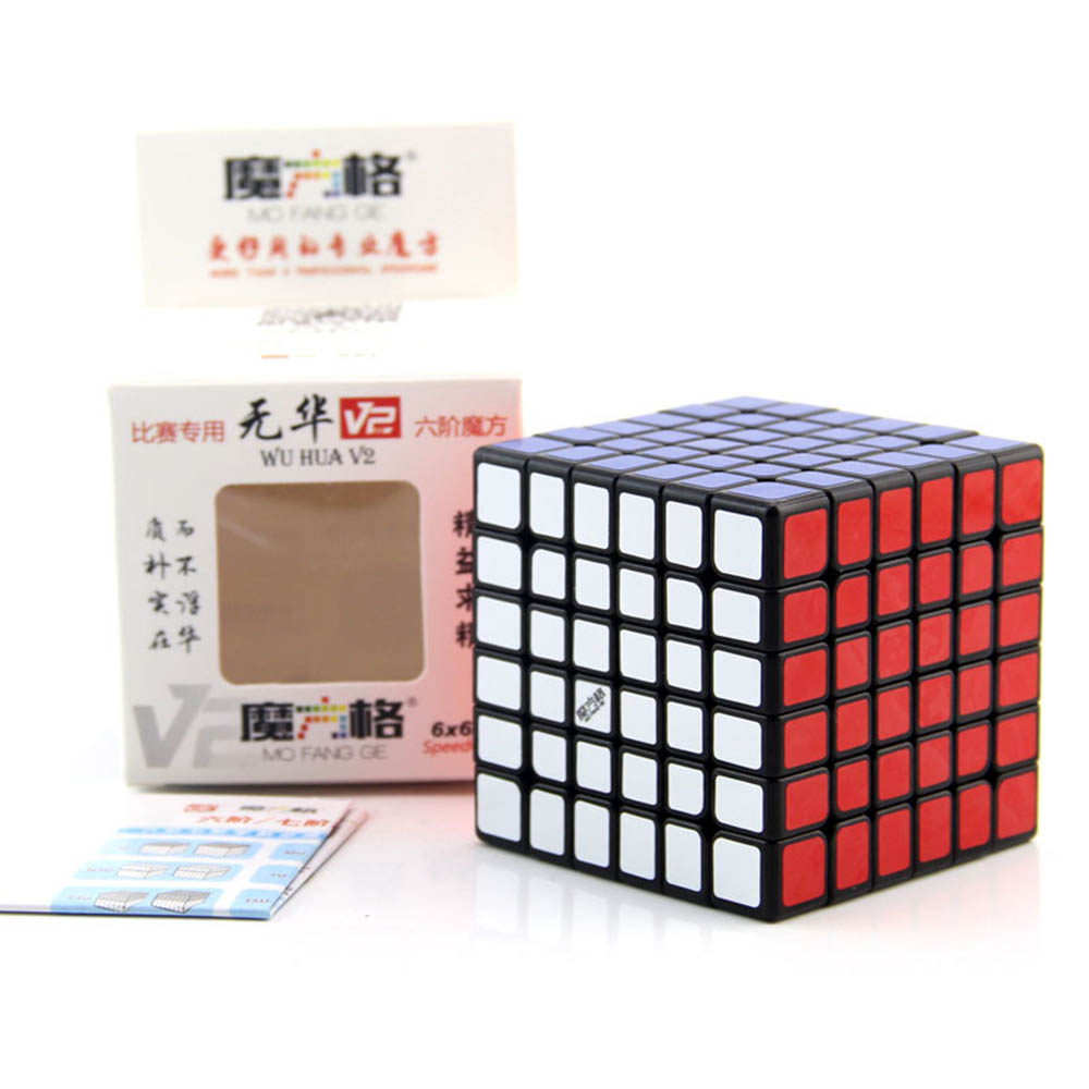 MO FANG GE Wu Hua V2 6*6*6 Cubes magiques Puzzle vitesse compétition Cube jouets éducatifs cadeaux pour enfants enfants