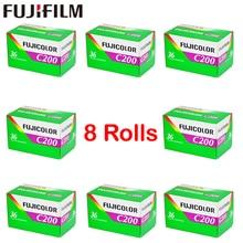 8 Roll/lot Fujifilm C200 Color 35mm Film 36 Exposure for 135 Format Camera Lomo Holga BC Dedicated