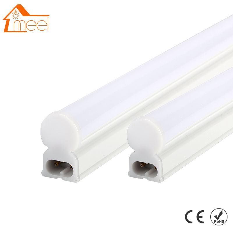 LED Tube T5 Light 220v 240v 30cm 6w 60cm 10w LED Fluorescent Tube T8 Wall Lamps Cold White T5 Bulb Light energy savingt8 60cm led 10w fluorescent 40w equivalent tube replacement fluorescent lamp fixture no ballast no uv
