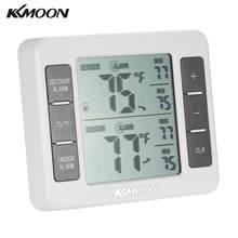 KKmoon – Mini thermomètre numérique LCD, sans fil, pour l'extérieur, avec affichage de la valeur minimale maximale C/F