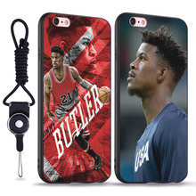 b32de4881e3 Jimmy Butler soft silicone TPU phone case cover Shell For Apple iPhone 5 5S  SE 6
