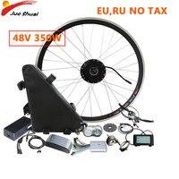 48V 350W Electric Bike Conversion Kit E Bike 26''700C 28'' Front Motor Wheel hub Moto Eletrica Samsung LG MTB Bicycle bicicleta