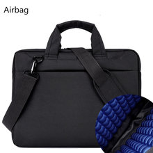 Laptop bag case 17.3 17 15.6 14 12 inch Nylon airbag shoulder handbag computer bags Waterproof Messenger Women men Notebook bag