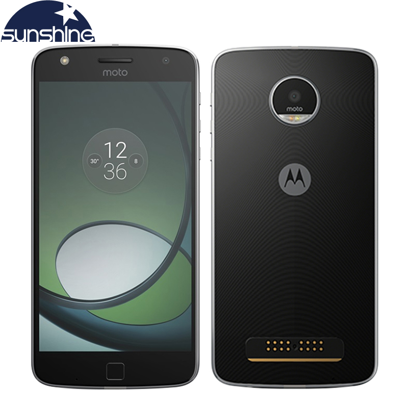 Original Motorola MOTO Z PLAY XT1635-03 Octa core Mobile phone 64G ROM 5.5'' 16.0MP Fingerprint Dual SIM LTE Smartphone