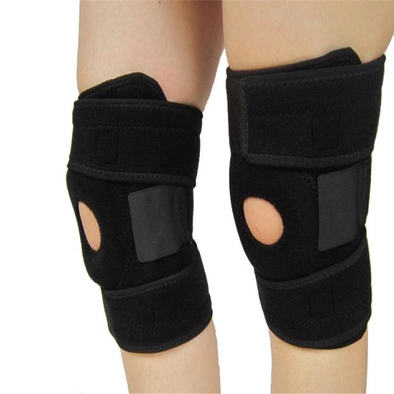 Elastic Neoprene Patella Brace Knee Belt Support Fastener Adjustable Strap Lightweight Reduce pressure on the patella C0607*30