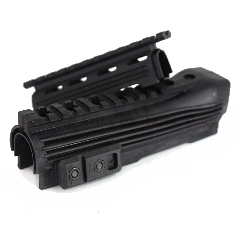 New Airsoft Gear Shoot AK 47 Strikeforce Polymer Handguard Upper lower Picatinny Black Tactical Hunting Rifle Gun Accessories(China)