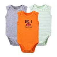 3 Pcs Set Body For Newborn Baby Bodysuits Baby Girls Boys Clothes Short Sleeved Infant Children
