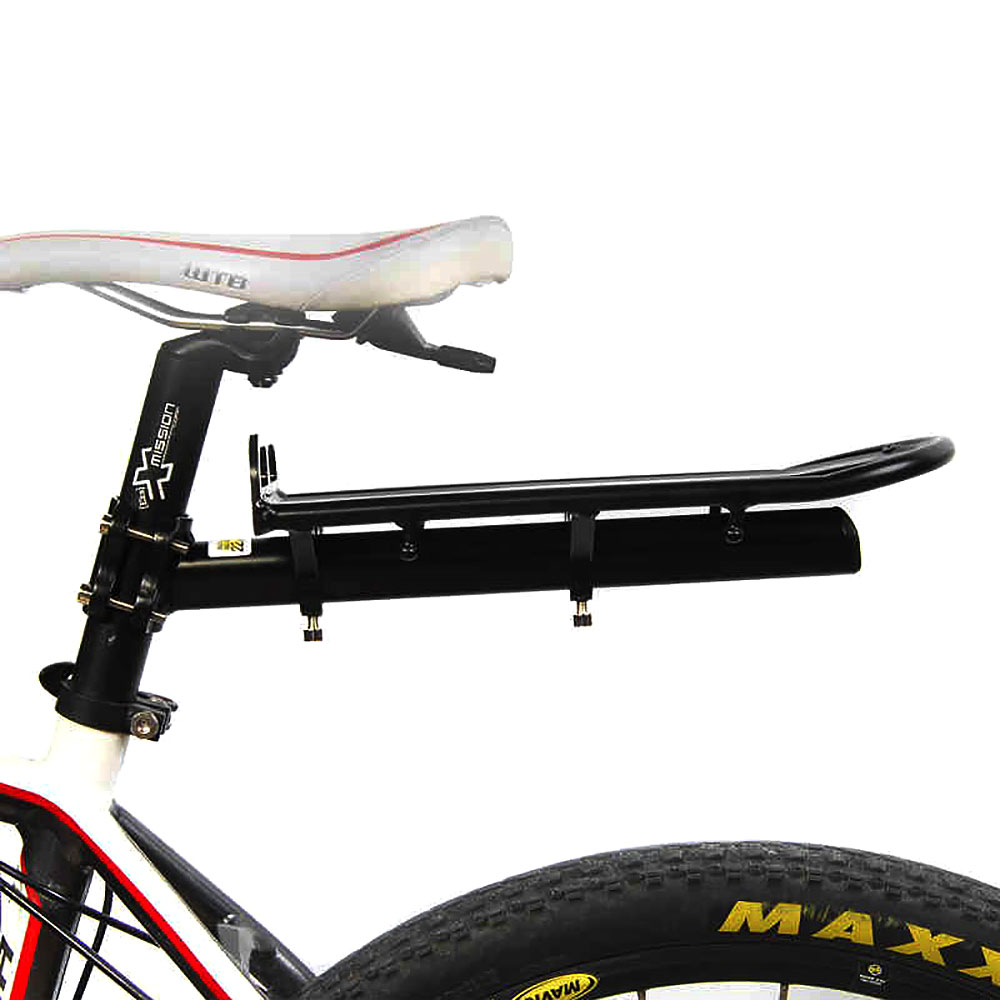 цена на Cycling Mountain Cargo Bicycle Carrier Rear Luggage Rack Shelf Bracket Aluminum Alloy
