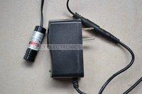 XL M 100mW 405nm Focusable Violet Blue Laser Line Module W AC Adapter