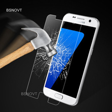 2PCS Glass For Samsung Galaxy S7 Phone Screen Protector Tempered Film G9300