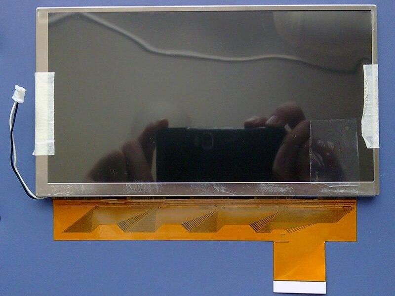все цены на New original genuine AUO7 inch LCD screen C070VW03 V0 car DVD navigation car screen онлайн