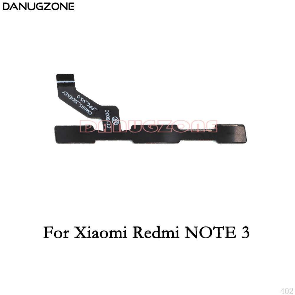 Power-Taste Auf/Off Volume Stumm Schalter Taste Flex Kabel Für Xiaomi Redmi HINWEIS 6 6A 7 5A 5 PRO 2 3 4 4X/HINWEIS 3G 4G