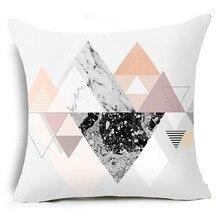 Gajjar Geometrische Kissen Fall Taille kissenbezug kissenbezüge dekorative 45x45 cm platz geometir Hause mar20