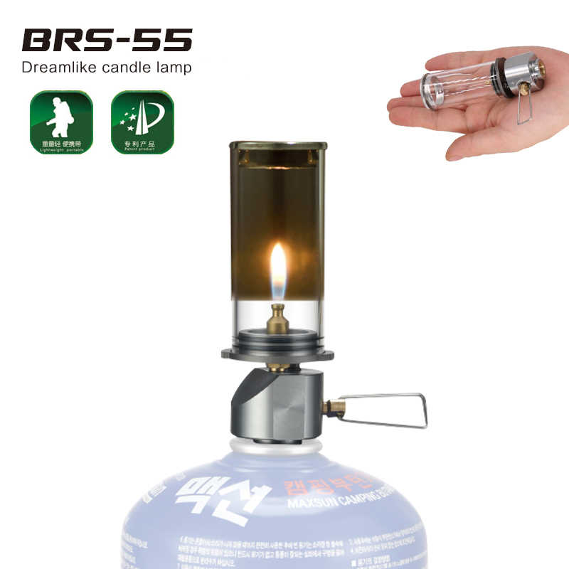 Detail Feedback Questions About Brs 55 Gas Lantern Portable Outdoor Camping Emergency Light Dreamlike Candle Lamp Tent Torch For Backng Hiking