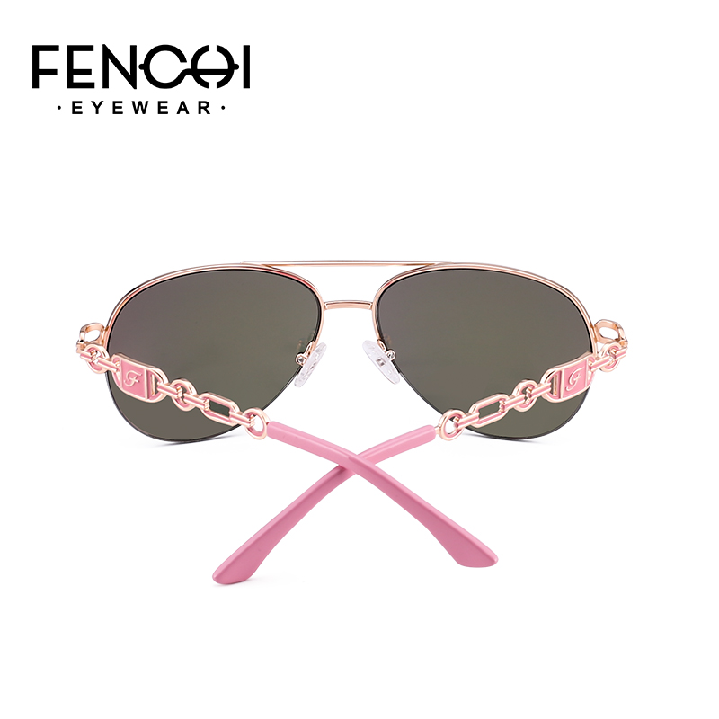 aa4bb9a65b85d ... FENCHI Sunglasses Women Driving Pilot Classic Vintage Eyewear  Sunglasses High Quality Metal Brand Designer Glasses ...