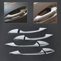 New ABS Plastics Chrome Door Handle Cover Trim High Quality Car Styling For Benz C E