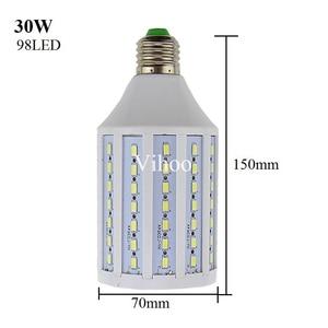 Image 3 - 7W 12W 15W 25W 30W 40W 50W 60W 80W 100W E27 B22 E40 SMD 5730 5630 LED corn bulb light droplight lighting Pendant downlight lamp
