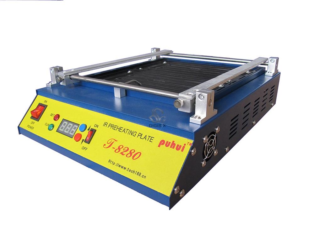 Free Shipping 220V Or 110V T8280 PCB Preheater T 8280 IR Preheating Plate T-8280 IR-Preheating Oven
