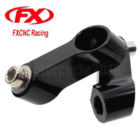 M10 X 1 25 Pitch Right Left Thread CNC Universal Aluminum Motorcycle Mirror Mount Riser Extender