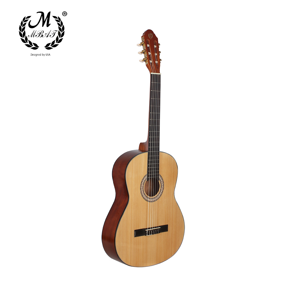 39 inch Acoustic Classical Guitar Nylon 6 Strings Hollow Body Profissionais Handmade Guitar Sapele-wood Fingerboard High Quality alice classical guitar strings titanium nylon silver plated 85 15 bronze wound 028 0285 inch ac139