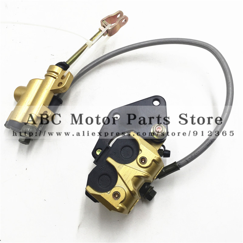Dirt bike 110cc Rear Brake Assembly Off-road motorcycle accessories Apollo pump disc brake caliper assembly up and down the pump motorcycle below down brake caliper pump for gsxr600 750 06 10 gsxr1300 08 12 bking 1300 08 12 gsr400 06 08 gsr600 2006 2010