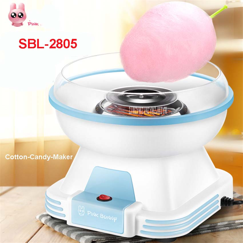 SBL-2805  New Model Automatic Mini Portable Electric DIY Cotton Candy Maker sweet sugar candy sugar candy wires and embroidery brown sugar kitchen new style down home recipes from sweet west oakland