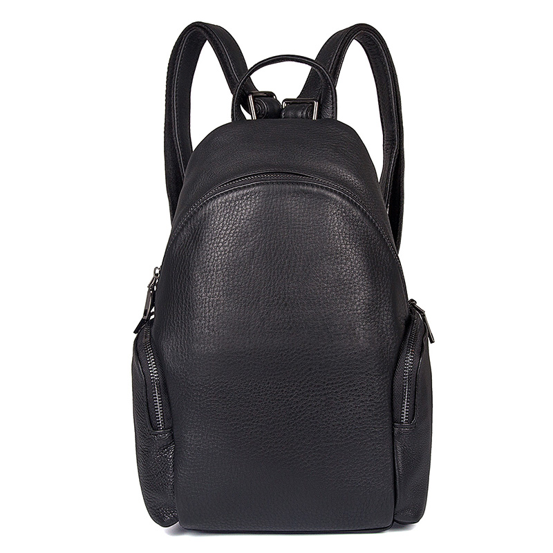 JMD Women Leather Backpack College Student School Bags Backpack for Teenagers Fashion Oval Type Casual Rucksack Travel Daypack