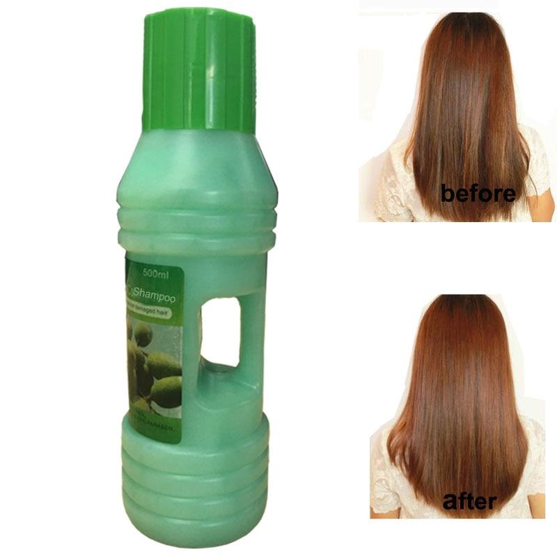 Ekstrak Zaitun Kerosakan Menyuburkan Syampu diperbaiki Melicinkan & - Penjagaan rambut dan penggayaan - Foto 1