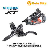 SHIMANO DEORE XT M8120 4 PISTON Hydraulic Disc Brake Left & Right Include ICE TECH PADS Bicycle MTB bike parts