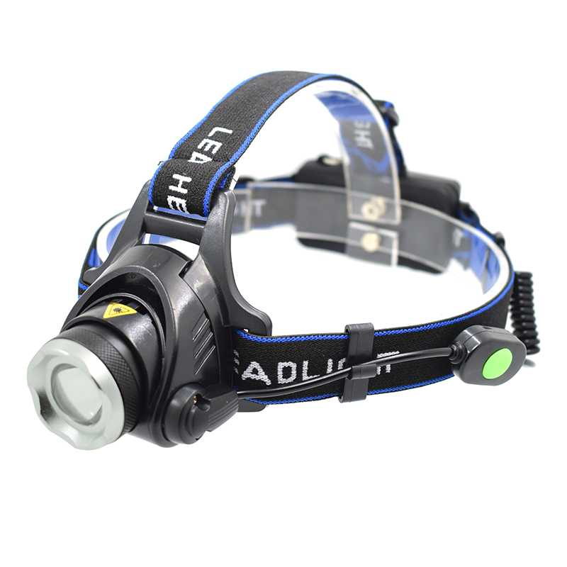 High Bright XML T6 LED Headlamp Headlight Flashlight Zoomable Head Light Lamp Rechargeable Fishing Running LED Head Torch 18650 r3 2led super bright mini headlamp headlight flashlight torch lamp 4 models