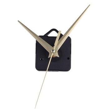Reloj de cuarzo dorado mecanismo de movimiento manos DIY Reparación de reemplazo retroiluminado espejo electrónico reloj de mesa