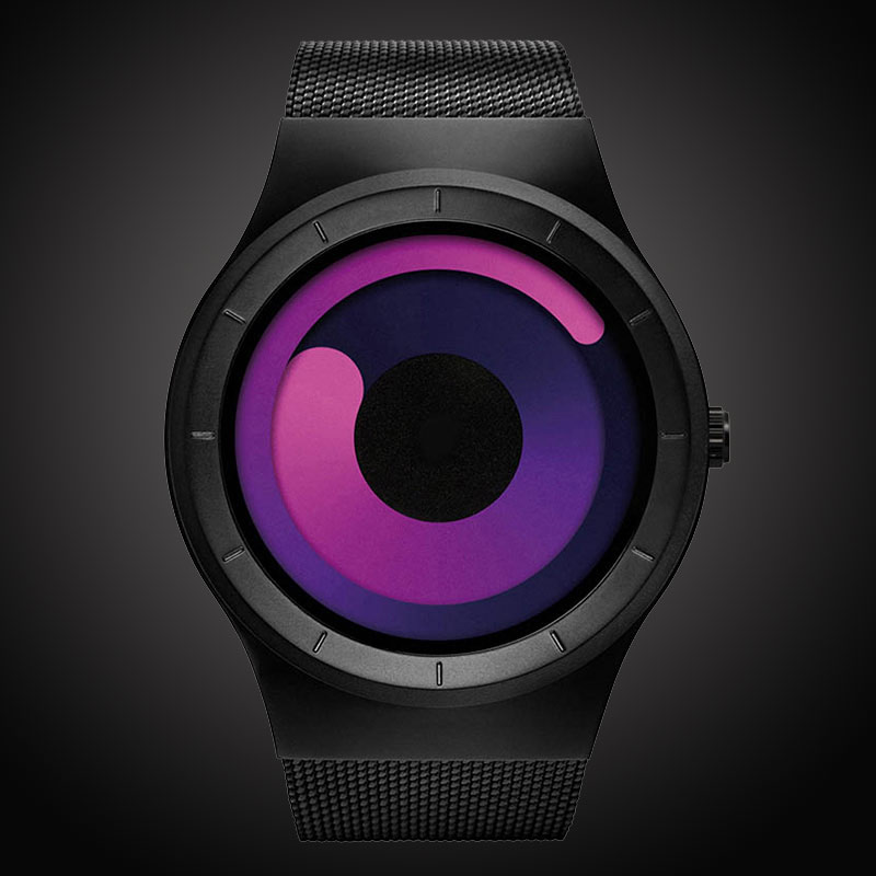 Men's Quartz Watch Man Top Brand Casual Stainless Steel Mesh Band Quartz-Watch Fashion Male Clock Style Relogio Masculino