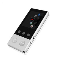 2017 High Quality Alloy Bluetooth MP4 Player 8GB Can Support TF Card With FM Radio Pedometer