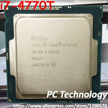Процессор Intel core i7-4770T cpu 2,50 GHz 8M 45W 22nm LGA1150 четырехъядерный настольный процессор i7 4770T