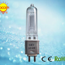 CHANGSHENG GKV 240V 600W галогенная лампа G9.5 сценический светильник 64716
