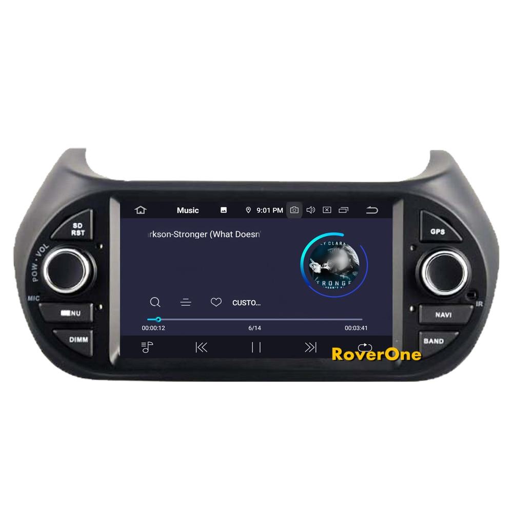 Clearance RoverOne Car Multimedia Player For Fiat Fiorino Qubo For Citroen Nemo For Peugeot Bipper Android 9.0 Octa Core Radio Navigation 7