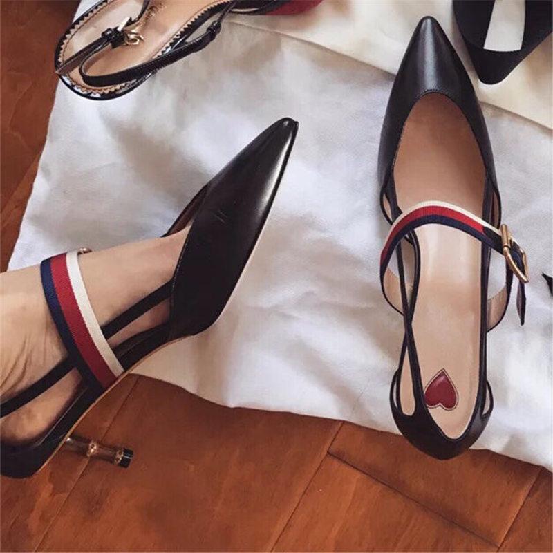 Marca Alto Nuevo Las Primavera Cinturón Extraño Parte De Zapatos OZkuXiP