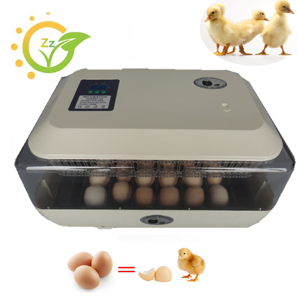Mini home use eggs incubator fully automatic digital clear chicken brooder commercial poultry incubator home hatchery eggs incubator automatic brooder poultry machines hatching eggs