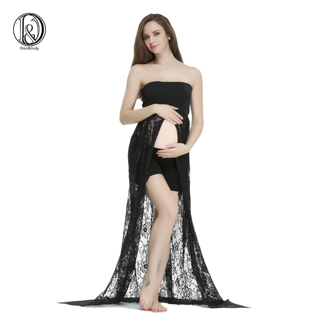 Superb Maternity Lace Dress For Photo Shoot (without Shorts) Maternity Dress For Baby  Shower Maternity