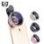 Profissional Câmera Fotográfica HD 0.45x lente Super Grande Angular Macro 12.5x Lente Do Telefone para samsung s7 s6 a3 a5 para iphone 6 5c se xiaomi