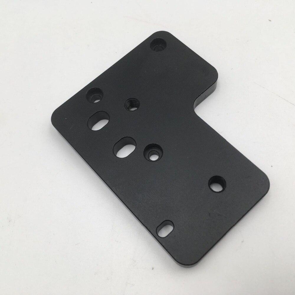 Funssor 1 pc platte für Creality CR-10/Ender-3 BMG Extruder Direct Drive Extruder