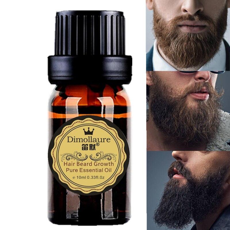 Dimollaure Uomini barba delle donne di olio di crescita Ciglia Crescita sopracciglio enhancer siero Baffi basette Petto la crescita dei capelli Più Spessi Essenza