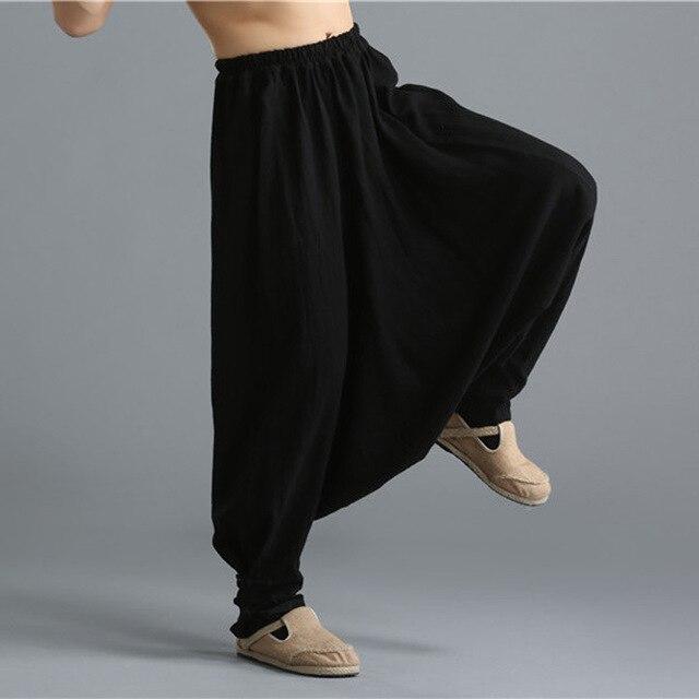 Весна лето мужчины гарем брюки уличная мода повседневная punk белье брюки свободные брюки мужчины с низким промежность крест брюки, C56
