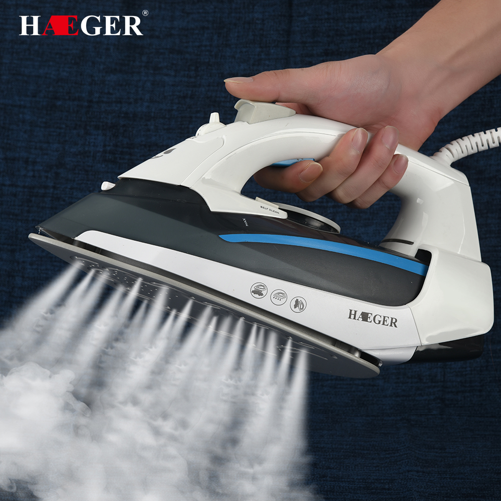 2000W Colorful Electric Steam Iron For Clothes Multifunction Adjustable Ceramic soleplate iron for ironing
